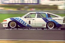 ROVER SD1 Tim Harvey  Silverstone BTCC 1987